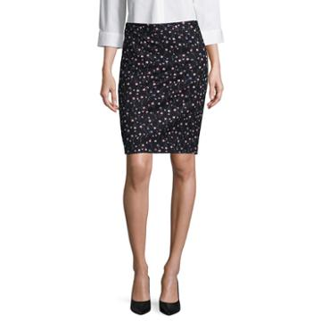 Liz Claiborne Pique Pencil Skirt - Tall 23.5