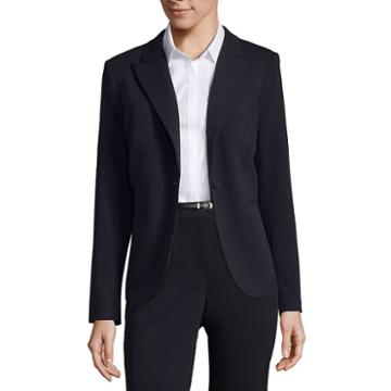 Liz Claiborneone-button Peak Lapel Blazer - Tall