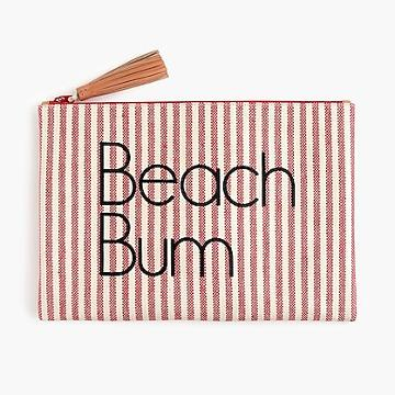 J.Crew Water-resistant pouch in Beach Bum