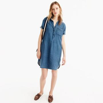 J.Crew Chambray shirtdress
