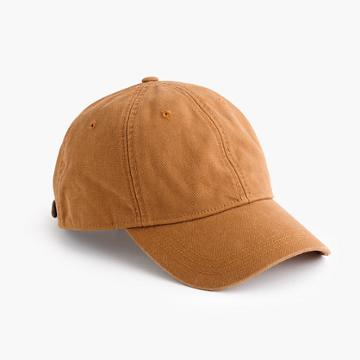 J.Crew Wallace & Barnes duck canvas ball cap