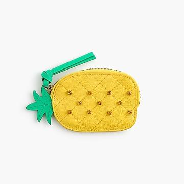 J.Crew Pineapple coin purse