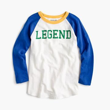 J.Crew Boys' legend baseball T-shirt