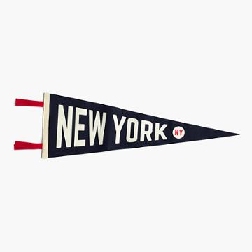 J.Crew Oxford Pennant New York City pennant