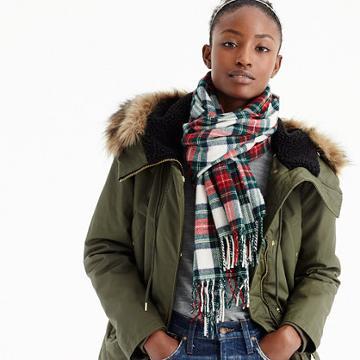 J.Crew Tartan scarf