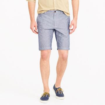 J.Crew 10.5 stretch short in chambray