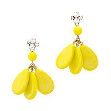 J.Crew Dangling teardrops earrings