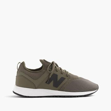 J.Crew New Balance 247 Sport sneakers in olive