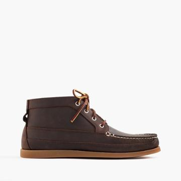 J.Crew Sperry for J.Crew chukka boots
