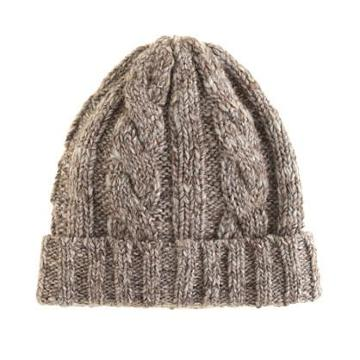 J.Crew Wool cable-knit hat