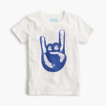 J.Crew Boys' rock on T-shirt
