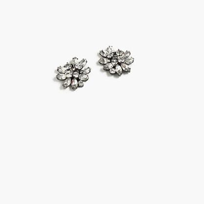 J.Crew Crystal burst earrings