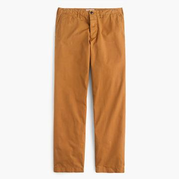 J.Crew Wallace & Barnes workwear suit pant in cotton