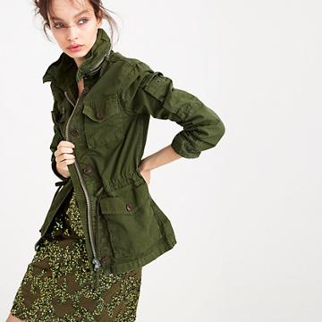 J.Crew Petite field mechanic jacket