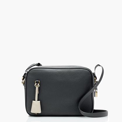 J.Crew Signet bag in Italian leather