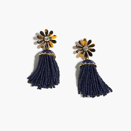 J.Crew Honeymoon tassel earrings