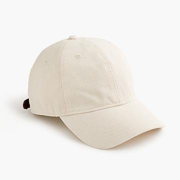 J.Crew Canvas and ripstop ball cap