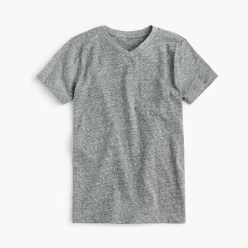 J.Crew Boys' V-neck T-shirt in the softest jersey
