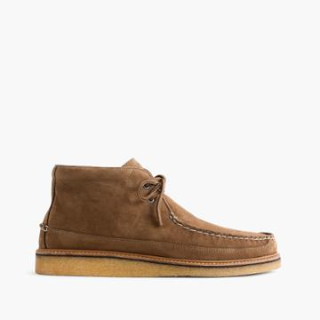 J.Crew Sperry for J.Crew moccasin boots