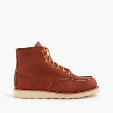 J.Crew Red Wing® 6 moc-toe 875 boots