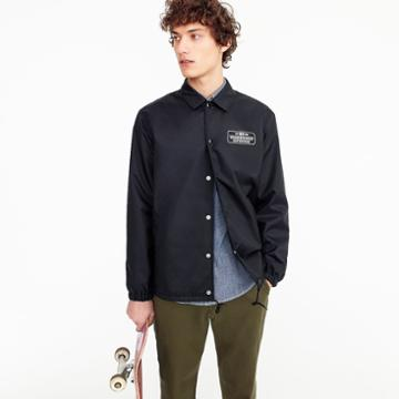 J.Crew Neighborhood for J.Crew coach's jacket