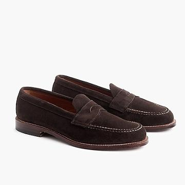 J.Crew Alden® for J.Crew penny loafers in suede