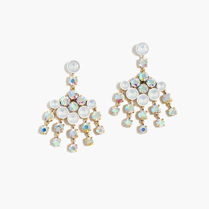 J.Crew Crystal chandelier earrings