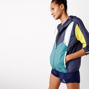 J.Crew New Balance® for J.Crew colorblock windbreaker jacket