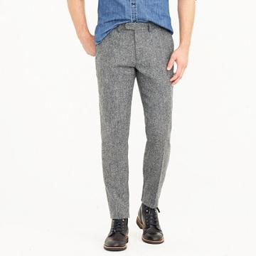 J.Crew Ludlow Slim-fit pant in English herringbone wool