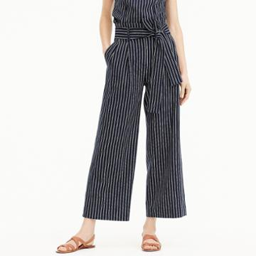 J.Crew Point Sur paper-bag pant