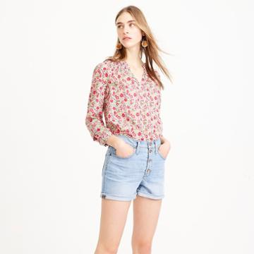 J.Crew Peasant top in Liberty D'Anjo floral
