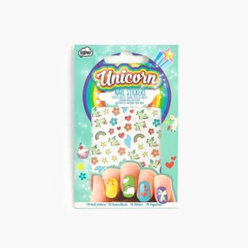 J.Crew Kids' unicorn nail stickers