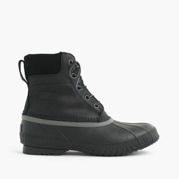 J.Crew Sorel Cheyanne boots in black