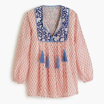 J.Crew SZ Blockprints for J.Crew Kitty top