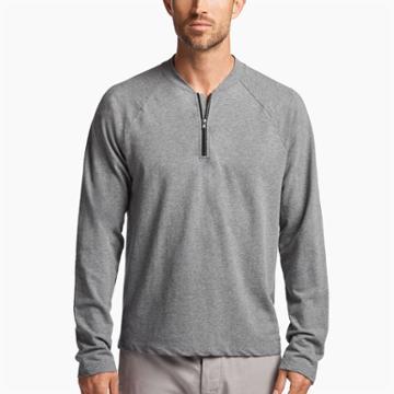 James Perse Jersey Half-zip Pullover