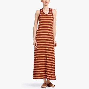 James Perse Vintage Stripe Tank Dress