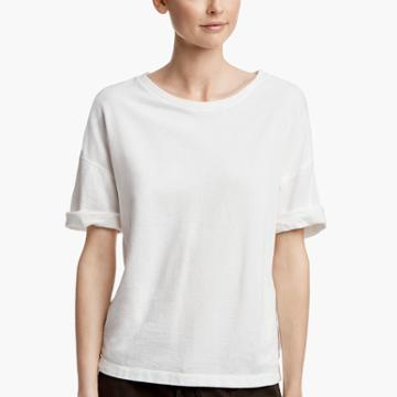 James Perse Dropped Shoulder Terry Tee