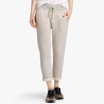 James Perse Plush Terry Fleece Sweatpant