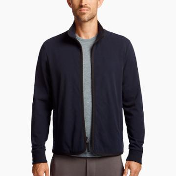 James Perse Heavy Clear Jersey Jacket