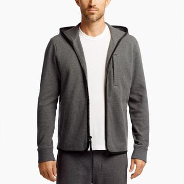 James Perse Brushed Fleece Hoodie