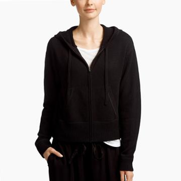 James Perse Brushed Cashmere Sweatshirt