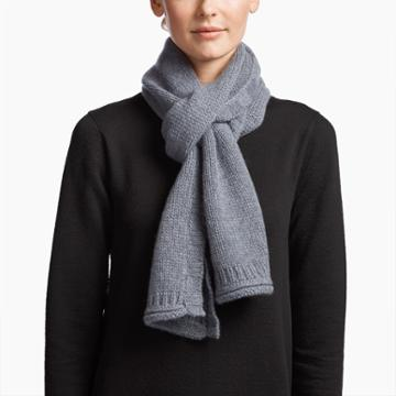 James Perse Cashmere Chunky Scarf