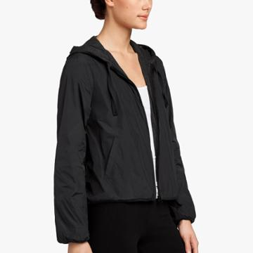 James Perse Jersey Lined Taffeta Jacket