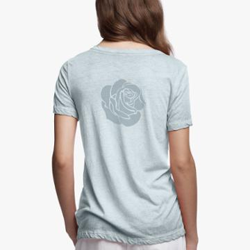 James Perse Grateful Dead Sun Faded Rose Tee