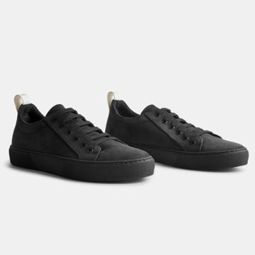James Perse Carbon Low Retro Sneaker Womens
