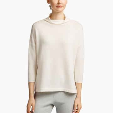 James Perse Oversized Cashmere Turtleneck