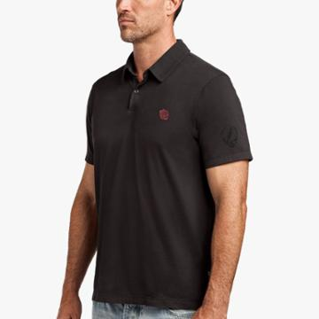 James Perse Grateful Dead Rose Polo