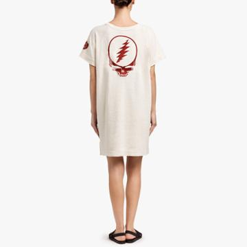 James Perse Grateful Dead Rose T-shirt Dress