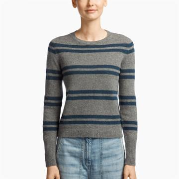 James Perse Cashmere Striped Sweater