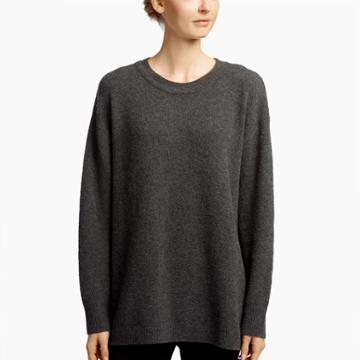 James Perse Felted Cashmere Oversize Sweater